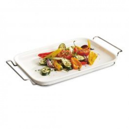 Clever Cooking Serving plate with rack
