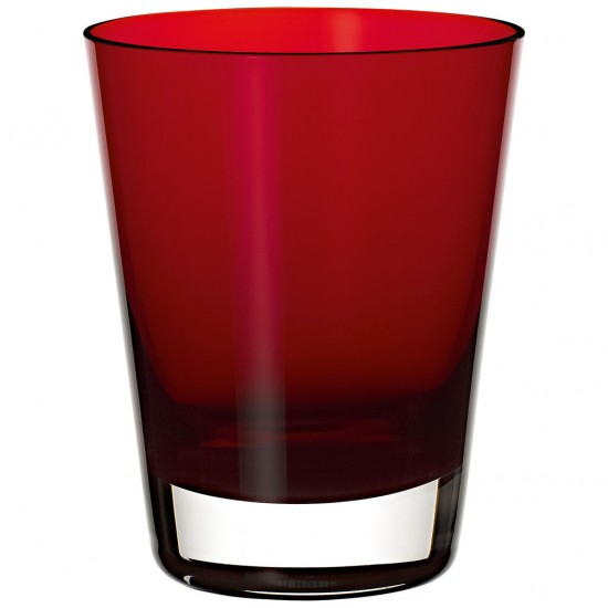 Colour Concept Glasses' Tumbler red 108 mm