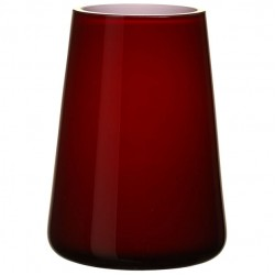 Numa Mini Vase deep cherry