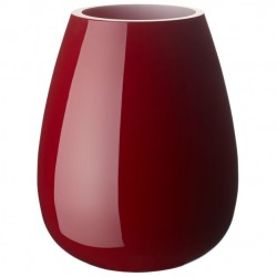 Drop Vase Small Deep Cherry