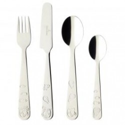 Children's 4-piece cutlery set
