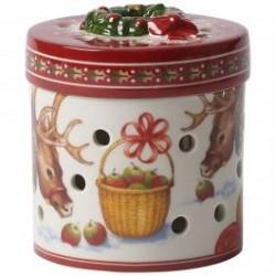 Кутия за подарък кръгла Christmas Toys small reindeer