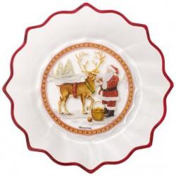 Купа Christmas Glass Accessories: Santa with Reindeer