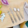 Children's 4-piece cutlery set