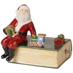 Музикална кутия Nostalgic Melody Santa with Book