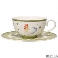 Farmers Spring Coffee/tea cup & saucer