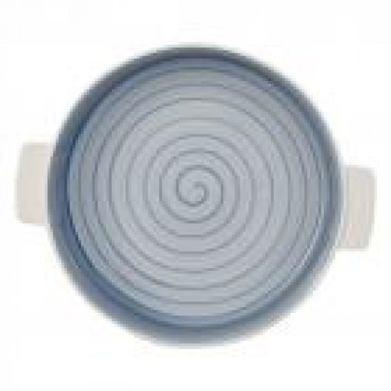 Round Clever Cooking Blue Baking Dish 28 cm
