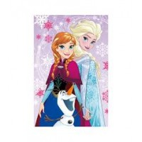 Polar Fleece Blanket 100x150 cm, Frozen