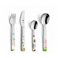 Farm  Children's Cutlery Set 4 pcs