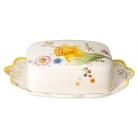 Villeroy & Boch Spring Awakening butter dish 21 x 16 x 6.5  cm