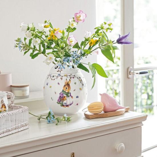 Spring Fantasy egg-shaped vase Emma and Paul, 21 cm
