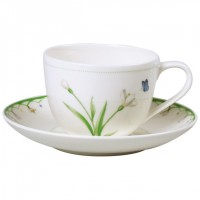 Colourful Spring coffee cup /saucer 230 ml