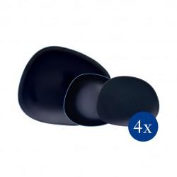 Villeroy & Boch Organic  Dark Blue Set 12 pcs