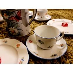 Sonate Nostalgie Coffee/tea cup & saucer 12 pcs