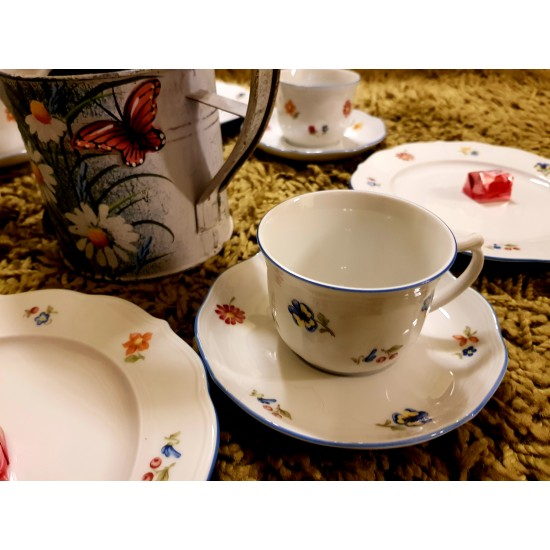 Sonate Nostalgie Coffee/tea cup & saucer 12 pcs