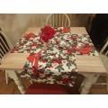 Table runner Christmas Mistletoe