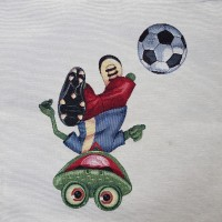 Decorative pillowcase  frog  45х45