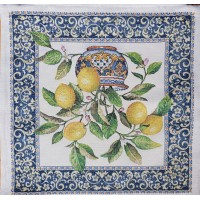 Decorative pillowcase lemons 45х45