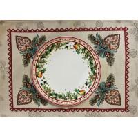 Gobelin placemat Christmas 31 x 46 cm