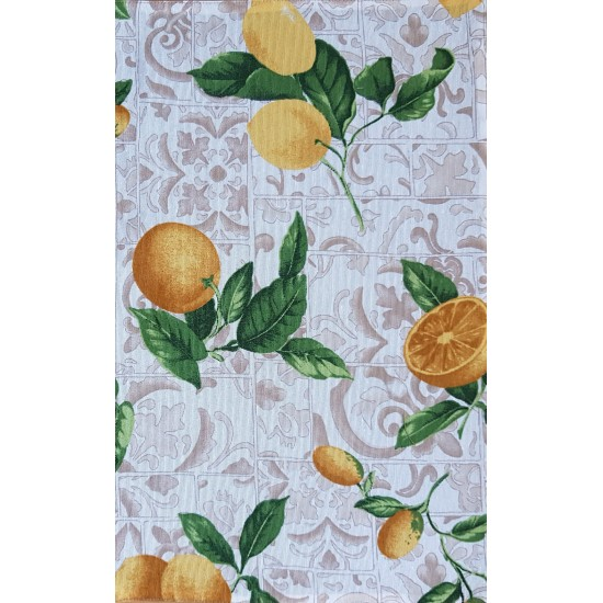 Placemat lemon double faced