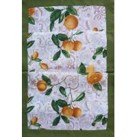 Table runner lemon 45x135 cm