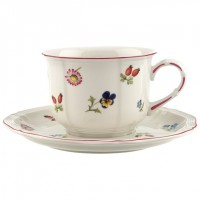 Petite Fleur cappuccino set 2 pieces