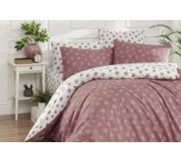 Double Quilt Cover Set Light Driet Rose 2 quilt covers