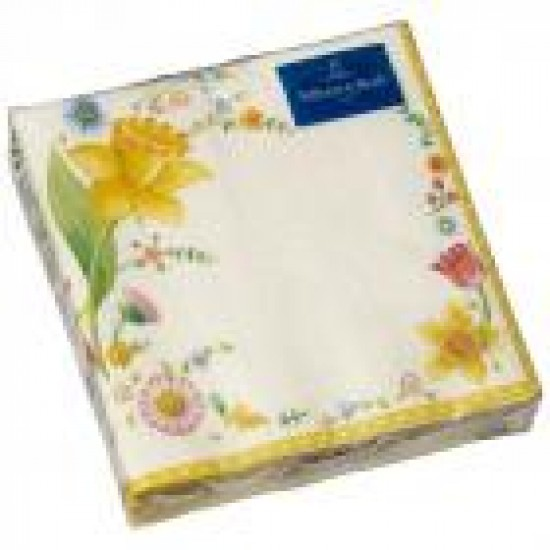 Easter Accessories Flowers Napkins  25x25cm