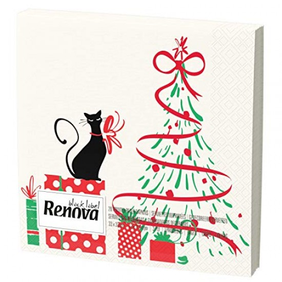Renova Napkins with Christmas motifs