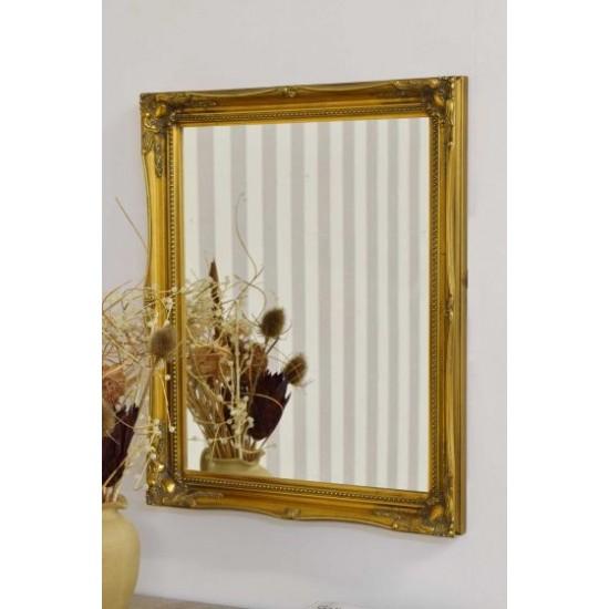Large Gold Antique Design Ornate Big Wall Mirror 61х50