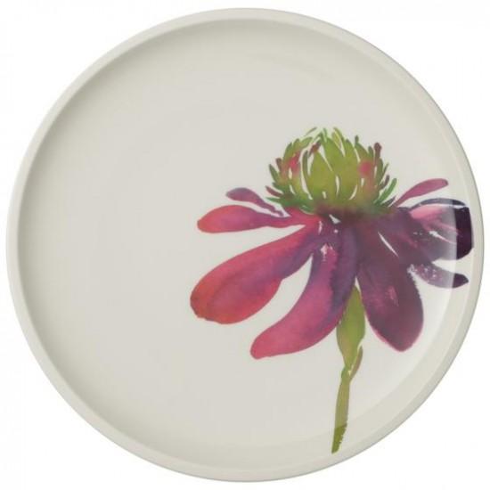 Artesano Flower Art dinner plate