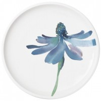 Artesano Flower Art breakfast plate