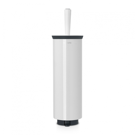 Toilet brush and holder Brabantia, Pure White