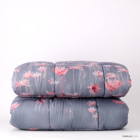 Riviera Winter Flower Bedspread 170 x 260 cm