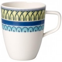 Casale Blu Carla coffee mug with handle Set 6 pcs