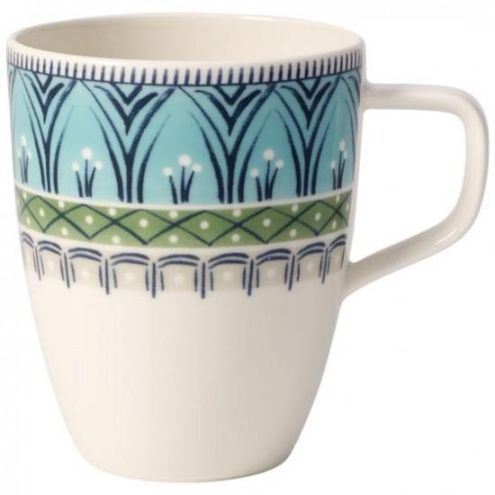 Casale Blu Dorina coffee mug with handle Set 6 pcs