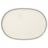 Casale Blu oval fish plate