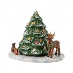 Christmas Toys Christmas tree with forest animals