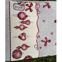 Table Cloth with Christmas details