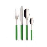 Green Apple cutlery set 24 pcs.