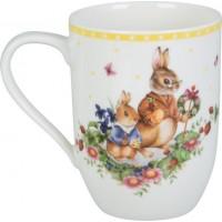 Spring Awakening mug Bunny Family