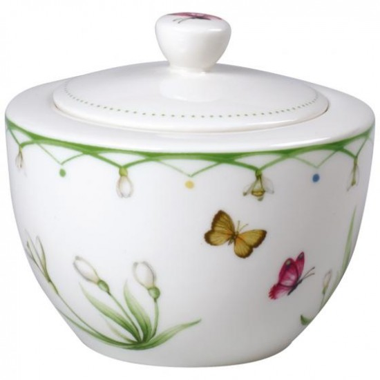 Colourful Spring sugar bowl
