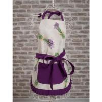 Lavender Kitchen Apron
