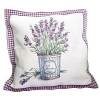 Decorative pillow Lavender 45 x 45 cm