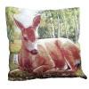 Decorative pillow Deer 45 x 45 cm