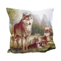 Decorative pillow Woolfs 45 x 45 cm