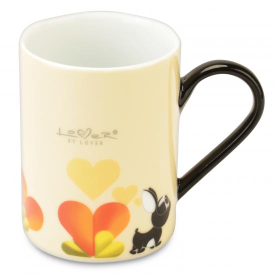 Lover by Lover Coffee Mug Beige Set 2pcs