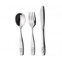 Animals Children's Cutlery Set 3 pcs