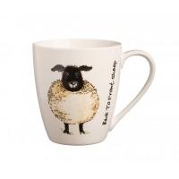 Back to Front Sheep Mug