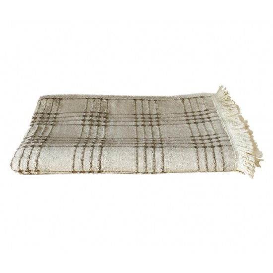 Maia Brown Bedspread 180 x 180 cm